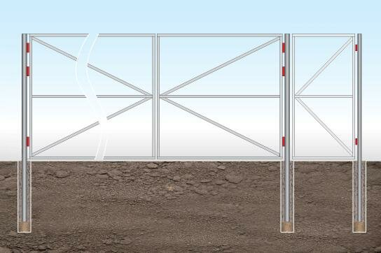 Ворота из профнастила своими руками фото